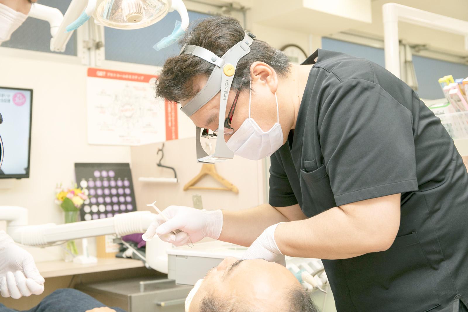 「合う入れ歯」を作るために